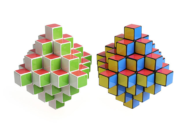 IQ Cube, Magic Cube, IQ Brick, Rubik Cube, The 3D IQ Rhombus (INNV004600) by IQCUBES.COM