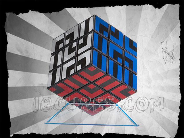 Maze Color IQ Cube