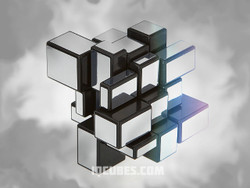 Transformed Mirror IQ Cubes - Silver
