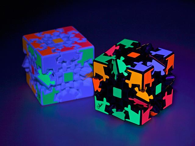 3D ILLUMINATED GEAR WHEEL IQ Cube IQBG008500