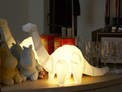 DIY Assemble Dinosaur Lights set - Diplodocus