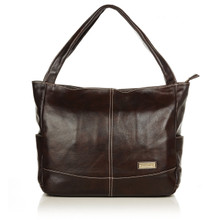 aretha 141131 Genuine Leather shoulder bag coffee