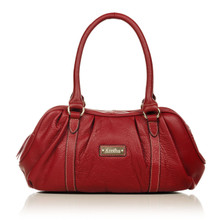 aretha 141271 Genuine Leather shoulder bag red