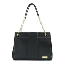 aretha 151031 Genuine Leather shoulder bag black