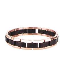 aretha BR80439-21 316L Stainless Steel Bracelet rose gold