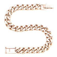 aretha BR80218-19 316L Stainless Steel Bracelet rose gold