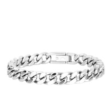 aretha BR50408-21 316L Stainless Steel Bracelet silver