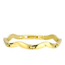 aretha BR71008-19 316L Stainless Steel Bracelet gold