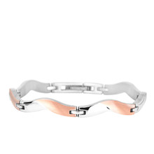 aretha BR81008-19 316L Stainless Steel Bracelet rose gold