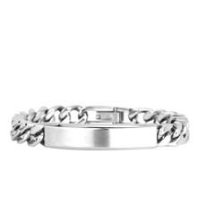 aretha BR50407-21 316L Stainless Steel Bracelet silver