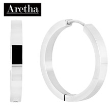 aretha ER50228 316L Stainless Steel Earrings silver