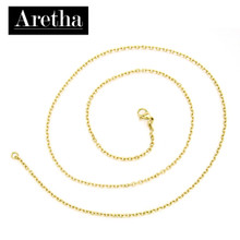 aretha CH72798-45 316L Stainless Steel Necklace gold