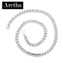 aretha CH50268-45 316L Stainless Steel Necklace silver