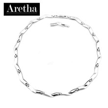 aretha CH51008-42+3 316L Stainless Steel Necklace silver