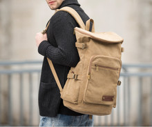 canvas large men duffle backpack