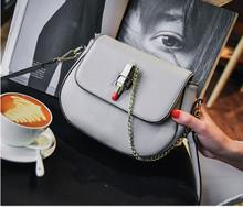 Leather women cross body clutch bag shoulder wallet purse