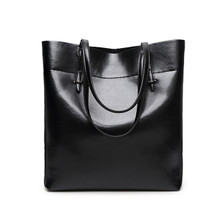 Genuine cow Leather classic  women casual hobo handbag shoulder weekend bag