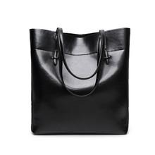 Genuine cow Leather classic  women casual hobo handbag shoulder weekend bag