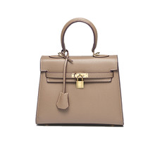 Leather women medium shoulder tote handbag crossbody purse