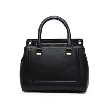 Leather women medium shoulder handbag tote cross body purse