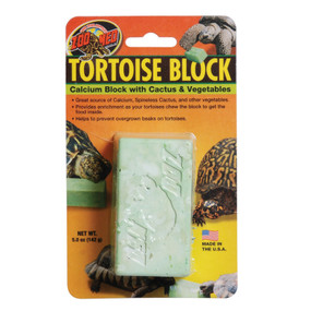 Zoo Med Tortoise Food Block