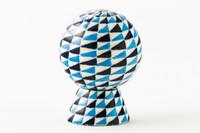 Gregg Pessman - Blue/White Diamond Pattern