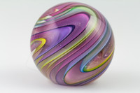 Chris Steffens Rainbow Switchback Paperweight #2