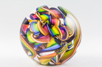 Chris Steffens - Soft Glass Paperweight #5