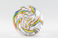 Chris Steffens - Soft Glass Paperweight #2