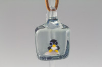Iceberg Glass - Penguin Pendant #2