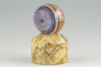 Spalted Maple - Wooden Marble Stand #5