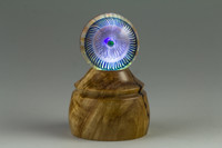 Olivewood - LED Wooden Marble Stand #2