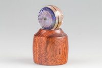Bloodwood - LED Wooden Marble Stand #1