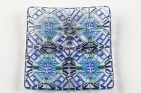 Xander D'Ambrosio - Blue Four-Fold Meditation Plate