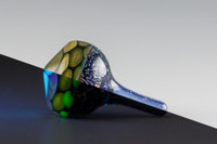 Joshua Hamra - Half/Half - Spinning Glass Top #07
