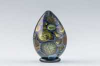 Joshua Hamra - Blue Amber-Purple  UV Easter Egg