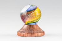 Chris Steffens - Rainbow Swirl Marble #1