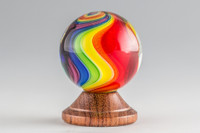Eddie Seese - Rainbow Swirl Marble #4