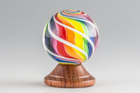 Eddie Seese - Rainbow Swirl Marble #2