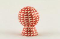 Gregg Pessman - Red/White Diamond Checkerboard