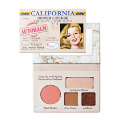 theBalm California Face Palette (Unboxed)