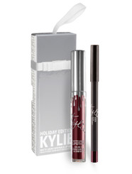 Kylie Holiday Lip Kit in Vixen