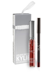 Kylie Holiday Lip Kit in Merry