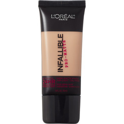 L'Oreal Infallible Pro-Matte 24-Hr Foundation in 106 Sun Beige