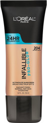 L'Oreal Infallible Pro Glow Foundation in 204 Natural Buff