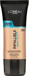 L'Oreal Infallible Pro Glow Foundation in 203 Nude Beige