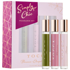 Tocca 'Simply Chic' Fragrance Set (3 x 0.15oz)
