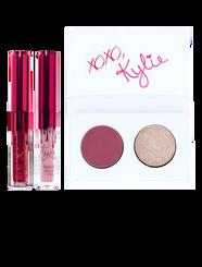 Kylie Valentine Mini Lip and Eye Kit in Smooch