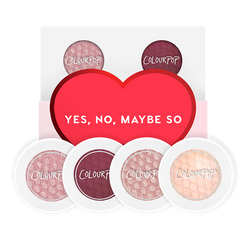 Colourpop Foursome in Yes, No, Maybe So