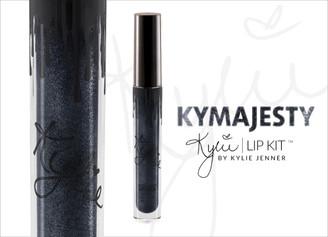 Kylie Metal Matte Lipstick in Kymajesty